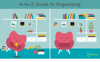 A-to-Z Guide to Organizing